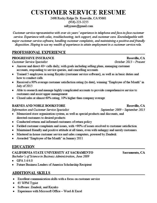 Combination Resume Samples  Resume Companion