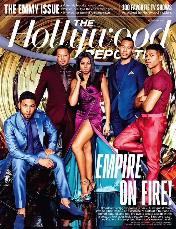 Empire Cast : The Hollywood Reporters (9/25/15)
