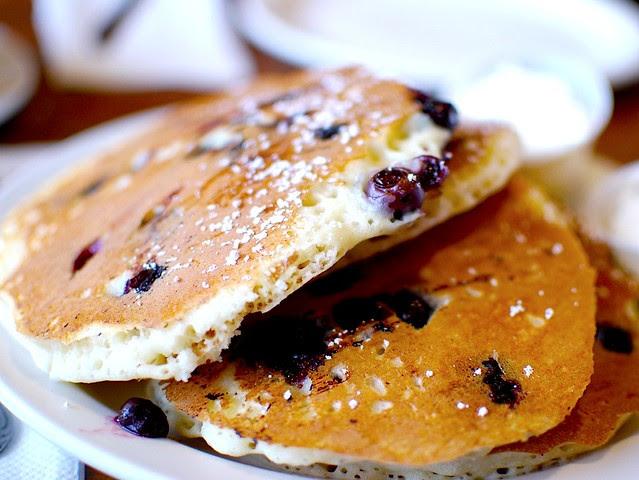 Pancake ai Mirtilli - Ricetta