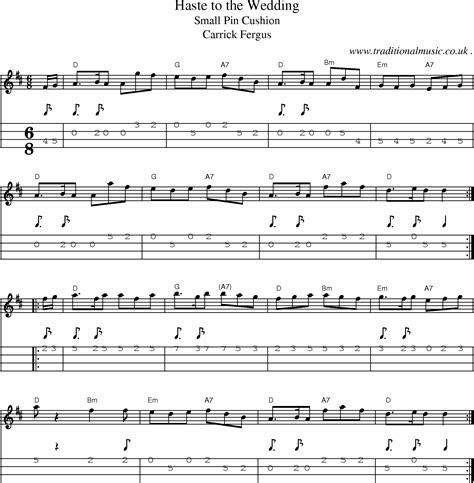 Common session tunes, Sheetmusic, Tabs for Mandolin, midi