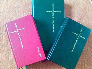 Collection of three books in the Church of Eng...