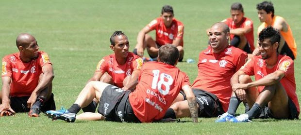 Adriano, Flamengo (Foto: Divulgação / Site Oficial do Flamengo)