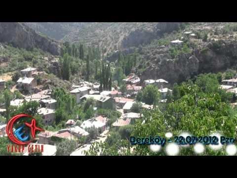 Dere Kasabası Köy Görünümü Video 22 Temmuz 2012 Pazar