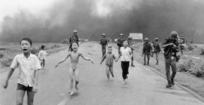 Hace 45 años EEUU arrojó una bomba de napalm en Vietnam