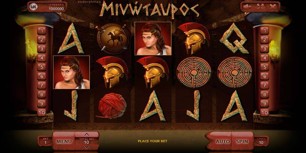Онлайн minotaurus минотавр игровой автомат