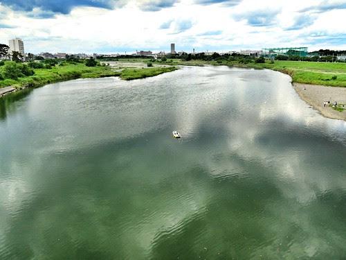 多摩川漂流