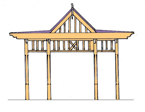 Build a decorative wood pergola in 1 weekend! many DIY plans here ...