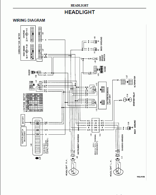 2017 Nissan Sentra Radio Wiring Diagram