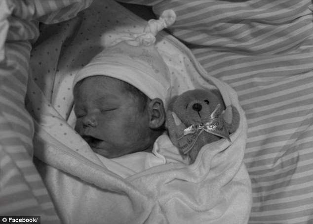 Holly-Mae Heys was later pronounced dead aged just 17 days old, with the case of death given as 'unascertained'