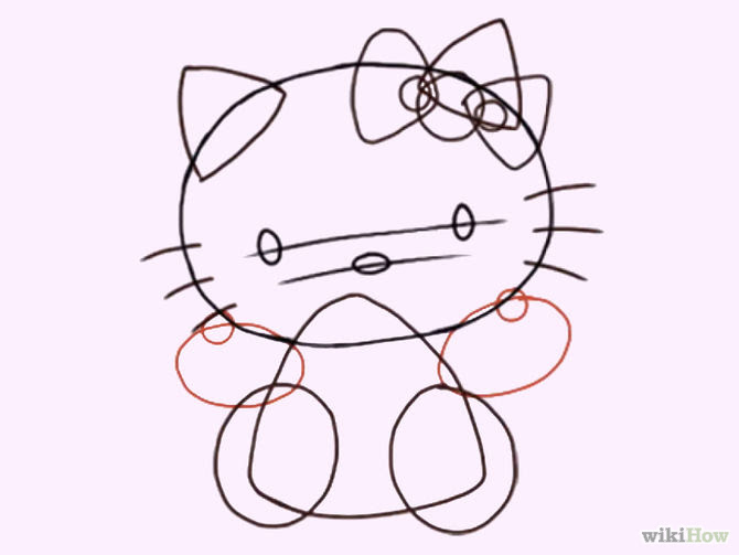 Hello Kitty Drawing At Getdrawingscom Free For Personal Use Hello
