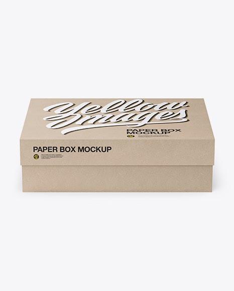 Download Download Delivery Box Mockup Psd PSD - Kraft Box Mockup ...