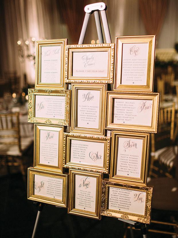 18 Creative Ways To Display Your Wedding Table Plan Weddingsonline