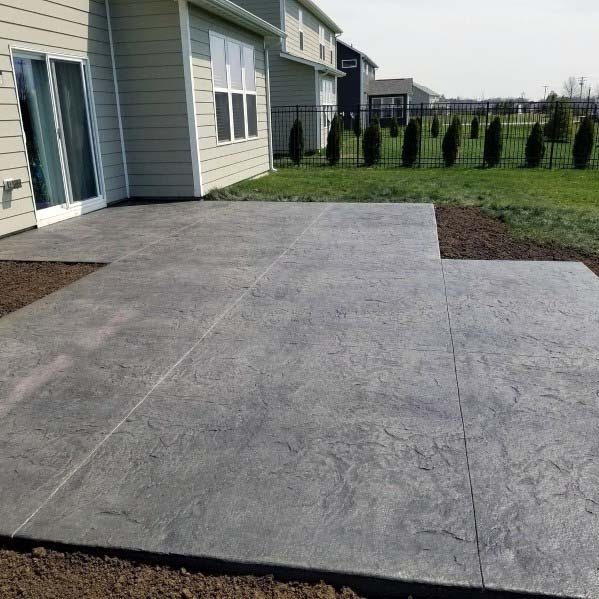 Cool Stamped Concrete Patio Designs Pictures pictures