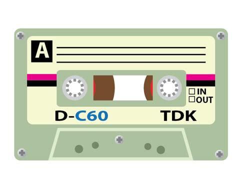 Create an old TDK Cassette