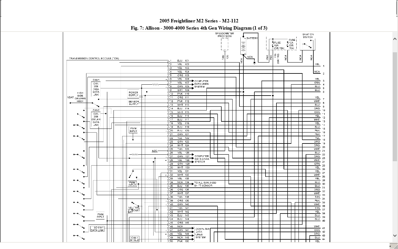 Allison Auto Wiring Diagram
