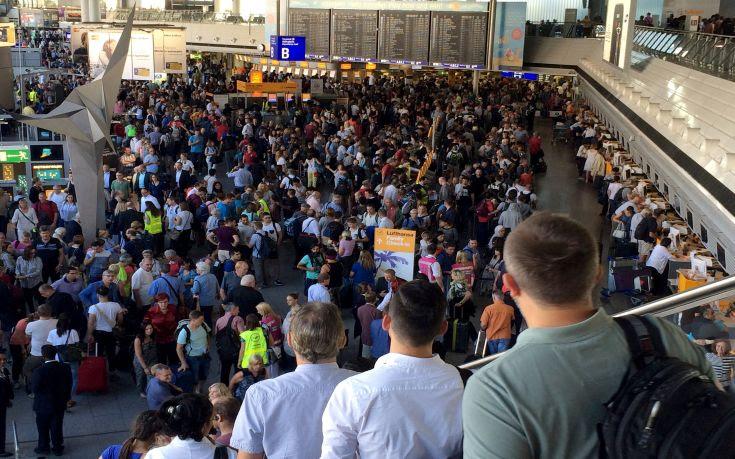 Δεν βρέθηκε τίποτα ύποπτο στο αεροδρόμιο της Φρανκφούρτης