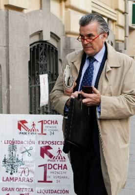 El ex tesorero del PP Luis Bárcenas. EFE/Archivo