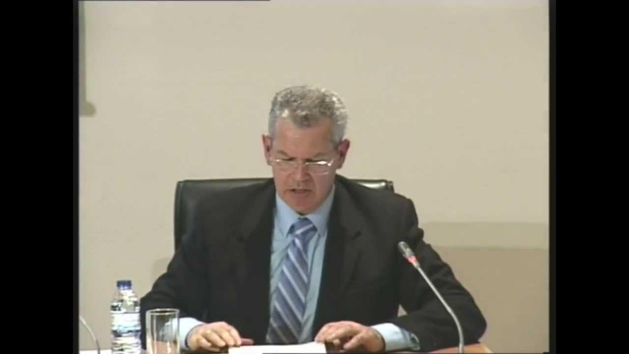 El fiscal Fernando Santos Urbaneja