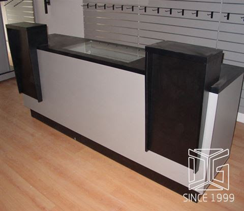 Customized Retail Shop Display Sale Counter Dg Furniture