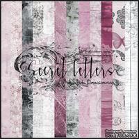 Набор бумаги 13arts - Secret letters , 30х30 см - ScrapUA.com