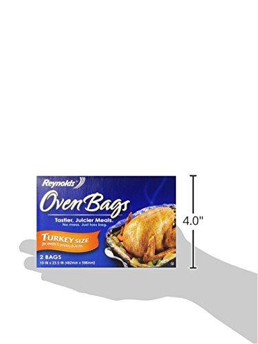Reynolds Oven Bags, Turkey Size, 2 ct Home Garden Kitchen ...