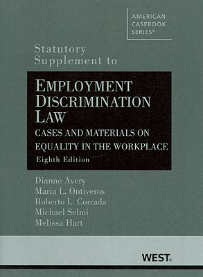 Cases And Materials On Employment Discrimination Casebook Series