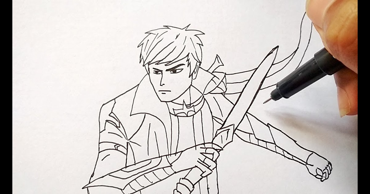 66 Gambar Hero Mobile Legends Sketsa Pensil Gudangsket