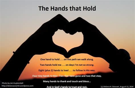 Hands That Hold   Delana's World