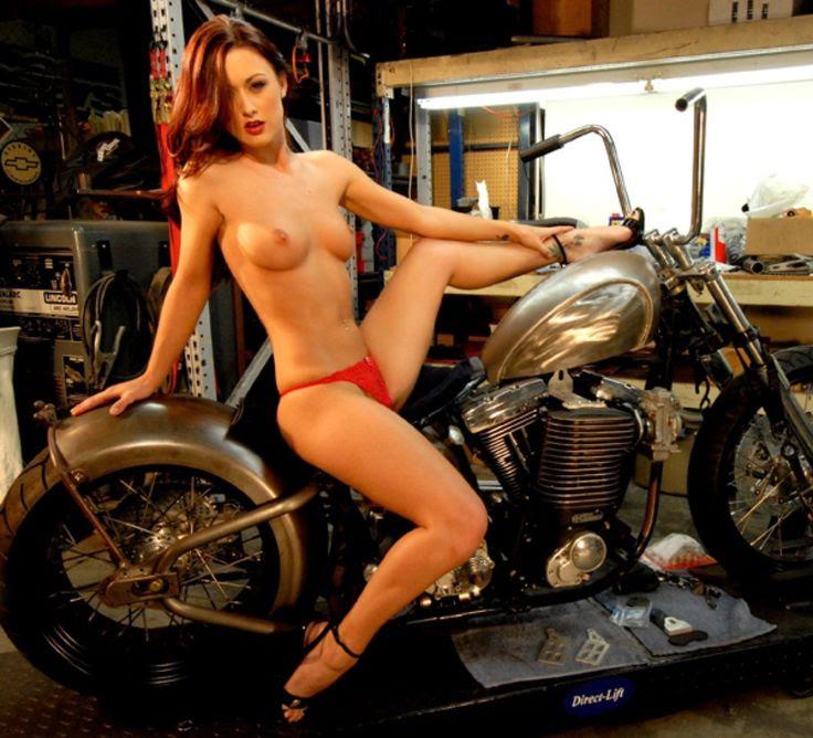 harley motorrad pussy