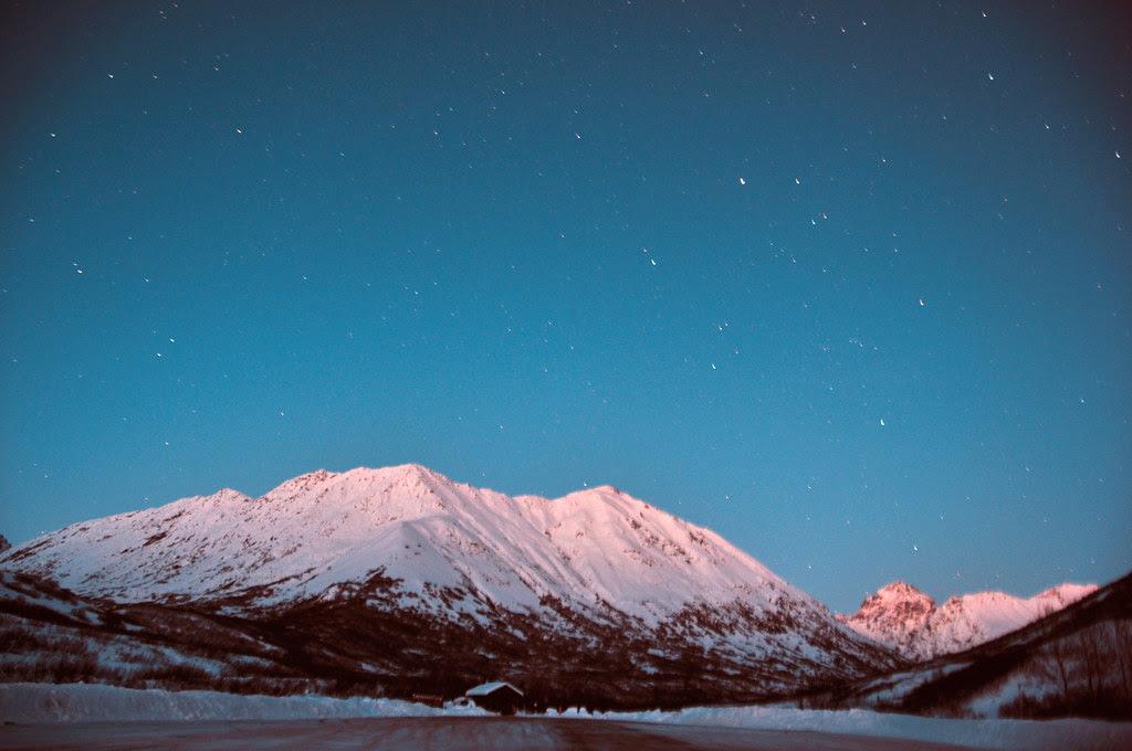 The Alaska Night Sky