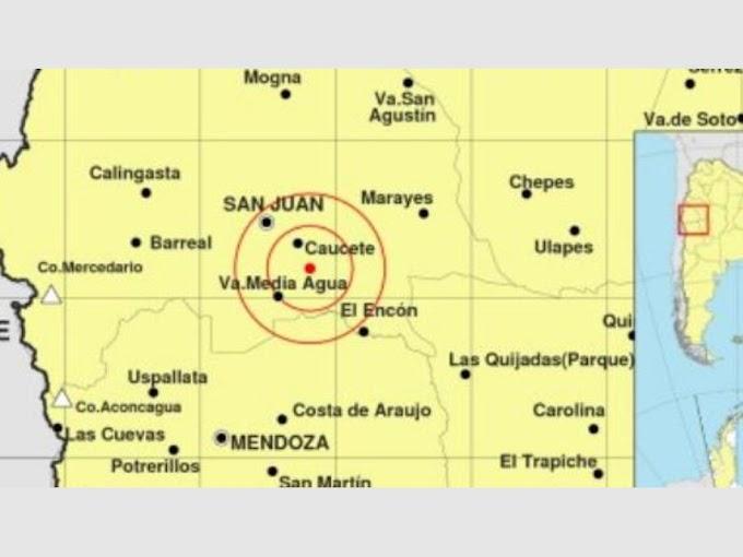 Susto entre los sanjuaninos por un sismo de 4.2°