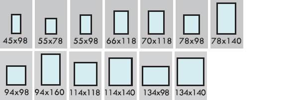 Casa immobiliare accessori misure standard finestre for Finestre velux misure standard
