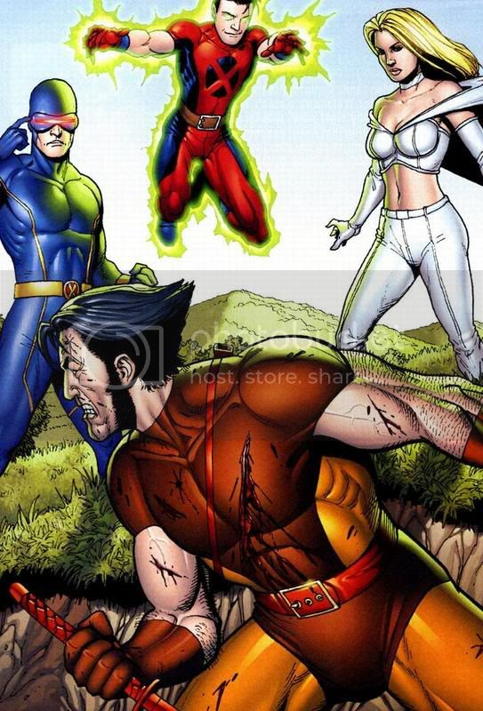 Logan vs X-men