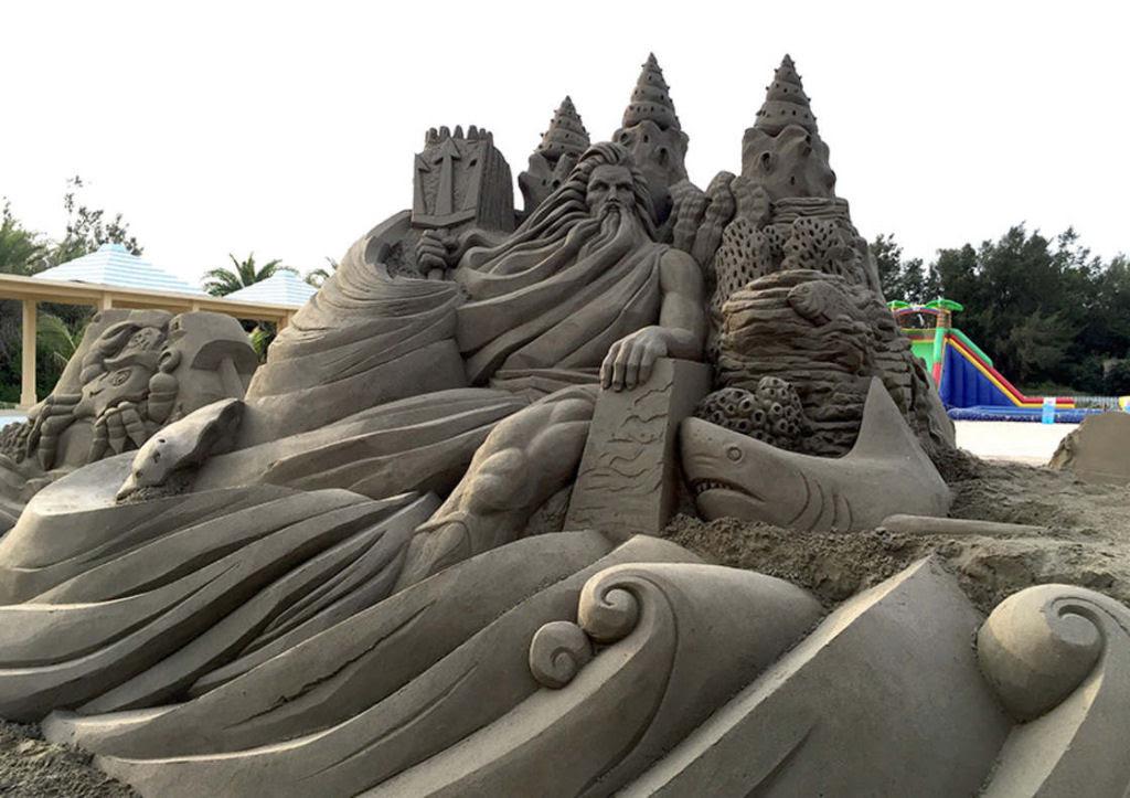 As extraordinárias esculturas de areia de Toshihiko Hosaka 25