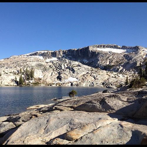 Granite in Z formation. #nofilter #lake