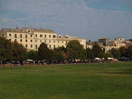 Σπιανάδα - Κέρκυρα πλατεία Σπιανάδα