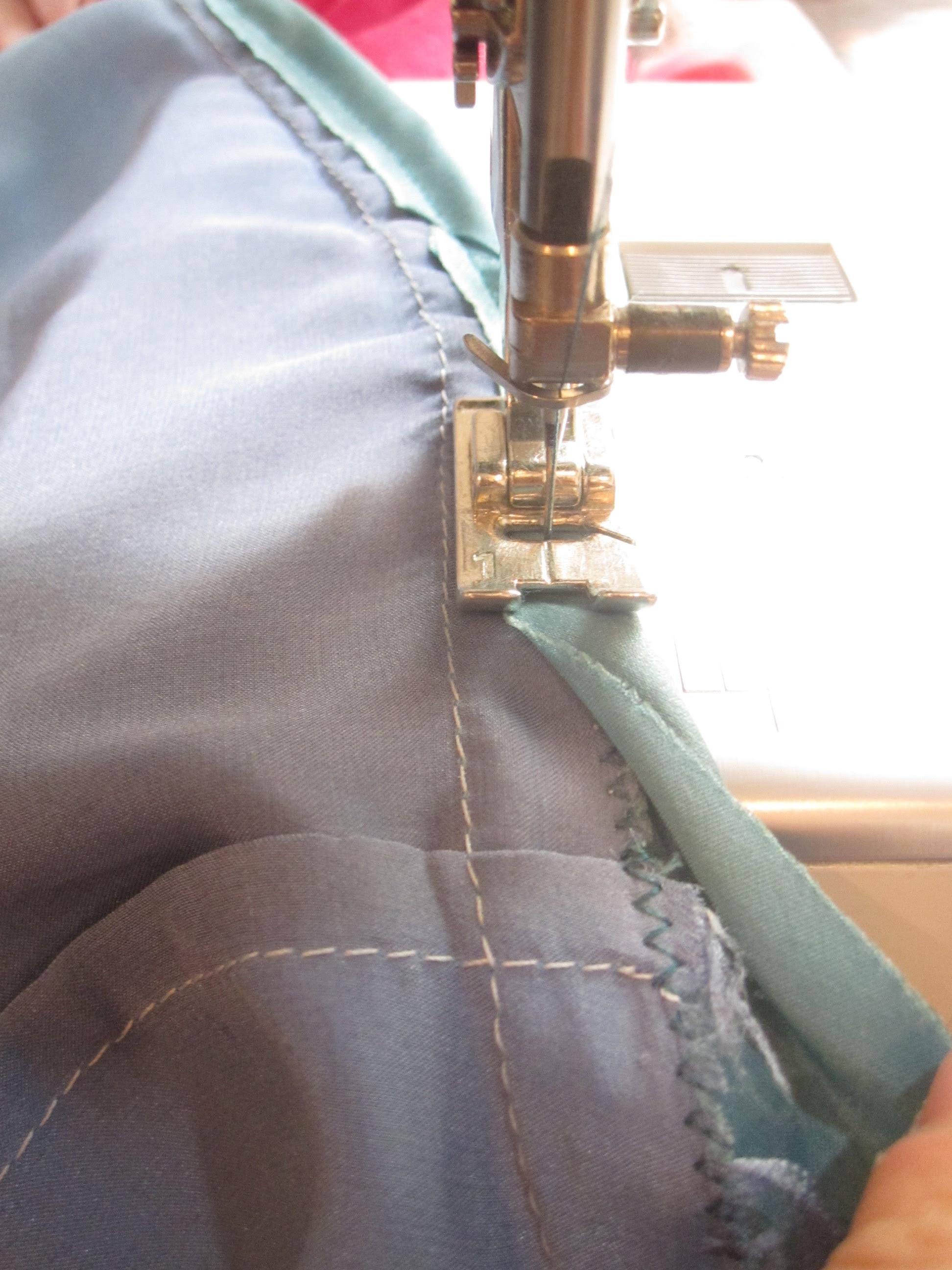 Stitch Bias Tape over SA