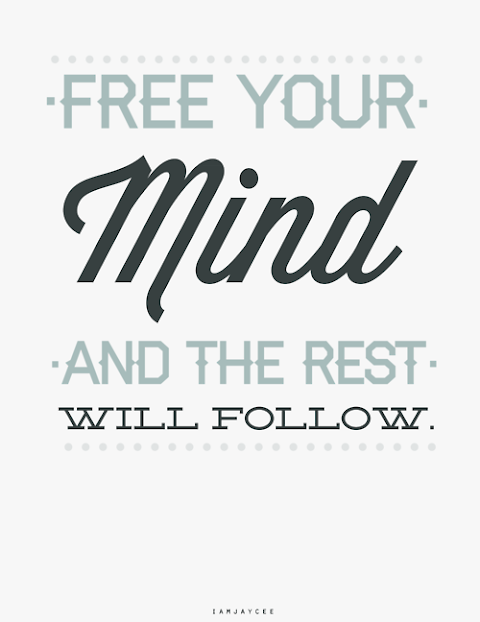 Free Your Mind And The Rest Will Follow Lyrics