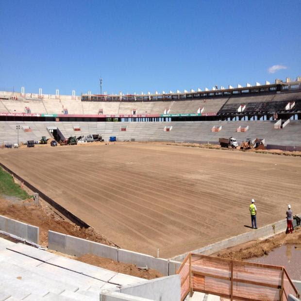 Beira-Rio está pronto para o plantio do gramado, que ocorre nesta quinta-feira World Sports/Divulgação