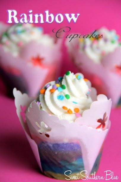 rainbow cupcakees 3