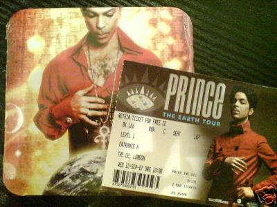tickets prince
