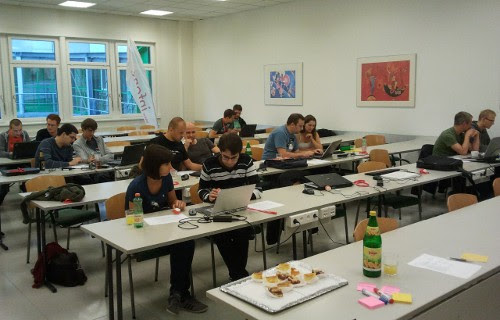 Code Retreat Graz, Session in Progress
