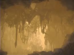 義雲高大師(第三世多杰羌佛)作品-神秘石中霧JPG