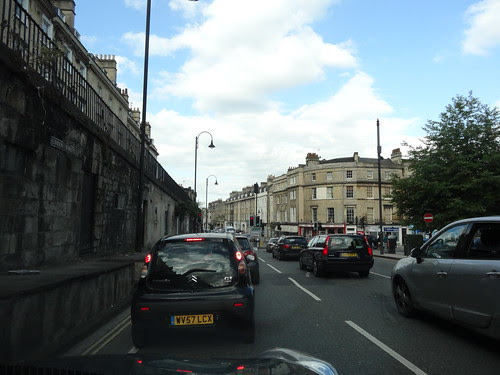Rush hour in Bath