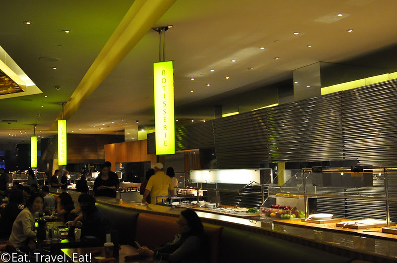 Cravings Buffet (The Mirage)- Las Vegas, NV: Interior Details