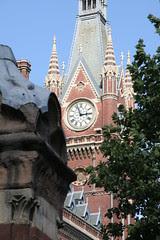 St Pancras Station, clock tower