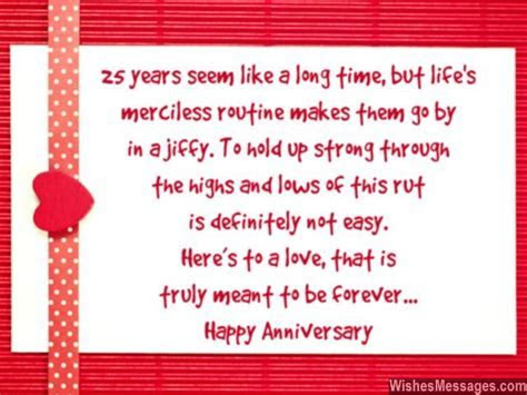25th Anniversary Wishes: Silver Jubilee Wedding