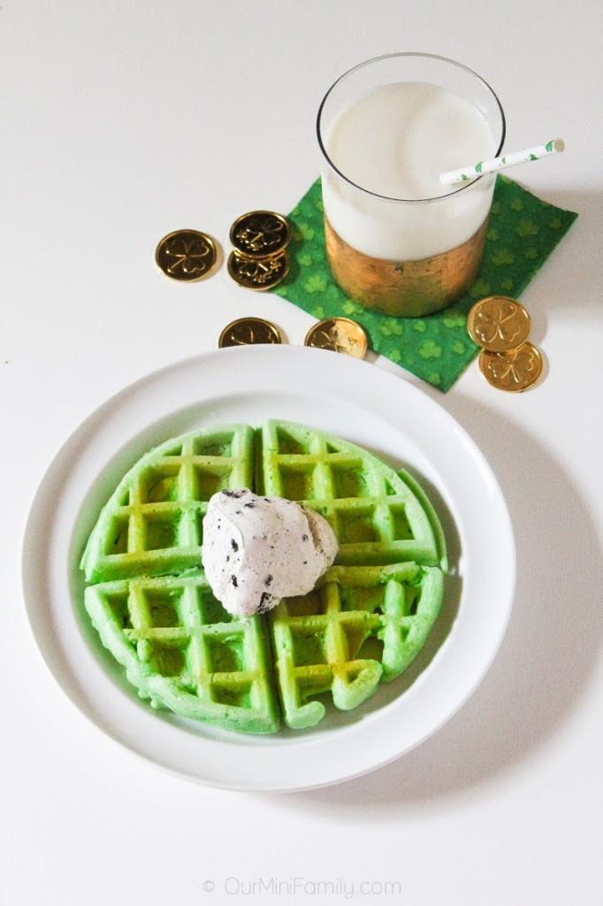 Mint Waffle Recipe