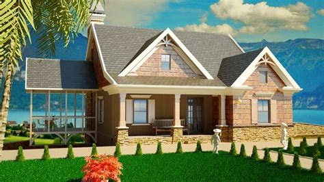 small cottage house plans  porches southern cottage