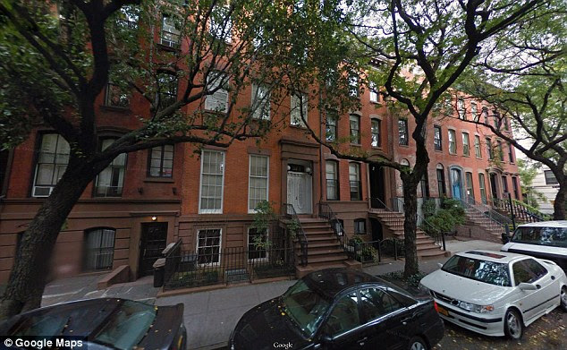 Years together: Soros and Schiff were married for 22 years and raised two now college-aged children. Pictured above is there $13million townhouse in New York City